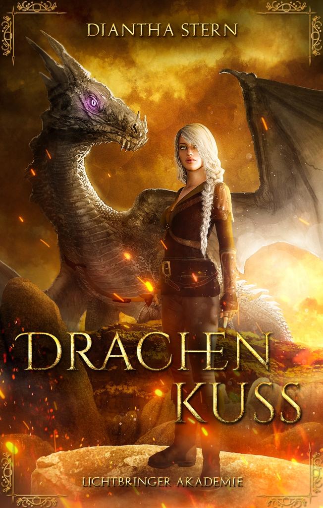 Drachenkuss - das Romantasy Abenteuer von Diantha Stern! Jetzt bei Amazon!
